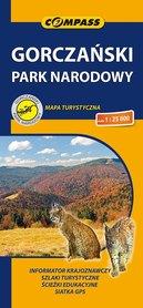 GORCZAŃSKI PARK NARODOWY mapa turystyczna 1:25 000 COMPASS 2020