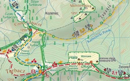 GORCZAŃSKI PARK NARODOWY mapa turystyczna 1:25 000 COMPASS 2020 (3)