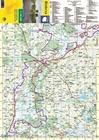 BIEBRZA laminowana mapa turystyczna 1:100 000 TD (2)