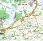 BIEBRZA laminowana mapa turystyczna 1:100 000 TD (4)