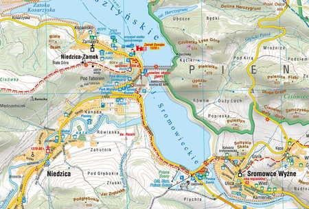 PIENINY mapa turystyczna 1:25 000 COMPASS 2020 (3)