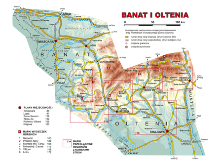 RUMUNIA POŁUDNIOWA Banat Oltenia Muntenia Dobrudża przewodnik krajoznawczy REWASZ 2020 (2)
