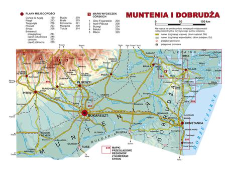 RUMUNIA POŁUDNIOWA Banat Oltenia Muntenia Dobrudża przewodnik krajoznawczy REWASZ 2020 (3)