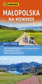 MAŁOPOLSKA NA ROWERZE VeloMałopolska mapa rowerowa COMPASS 2020
