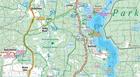 MAZURY SZLAK KRUTYNI JEZIORO ŚNIARDWY mapa laminowana 1:60 000 COMPASS 2020 (3)