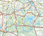 MAZURY SZLAK KRUTYNI JEZIORO ŚNIARDWY mapa laminowana 1:60 000 COMPASS 2020 (4)
