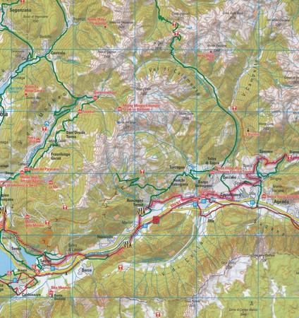 TYROL POŁUDNIOWY J.GARDA TRYDENT mapa rowerowa 1:150 000 ADFC 2020 (4)