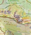 KARKONOSZE POLSKIE I CZESKIE laminowana mapa turystyczna 1:25 000 PLAN 2020 (2)