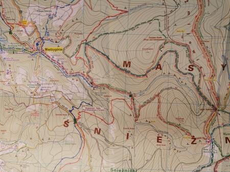 MASYW ŚNIEŻNIKA wodoodporna mapa turystyczna 1:25 000 PLAN 2020 (3)