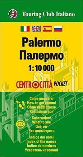 PALERMO kieszonkowy plan miasta 1:10 000 TOURING EDITORE