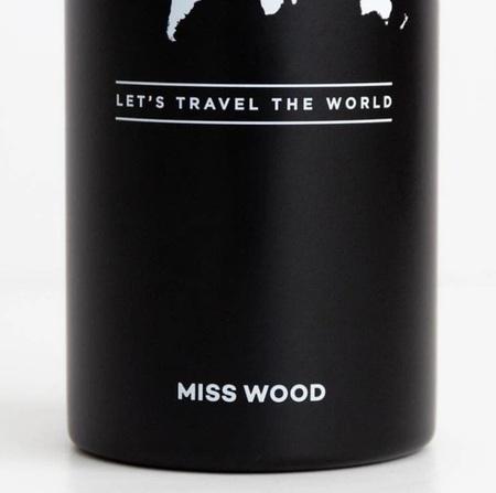 BUTELKA BIDON BLACK Woody bottle MISS WOOD (3)