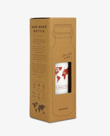 BUTELKA BIDON YELLOW Woody bottle MISS WOOD (5)