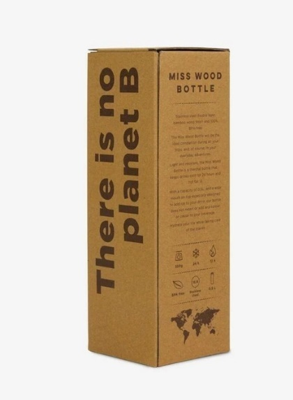 BUTELKA BIDON YELLOW Woody bottle MISS WOOD (7)
