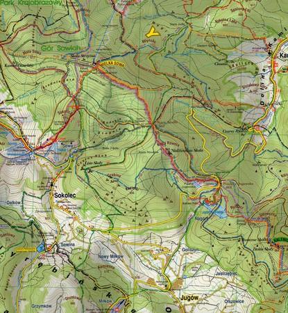 GÓRY SOWIE KOPLEKS RIESE mapa turystyczna 1:35 000 STUDIO PLAN 2020 (3)