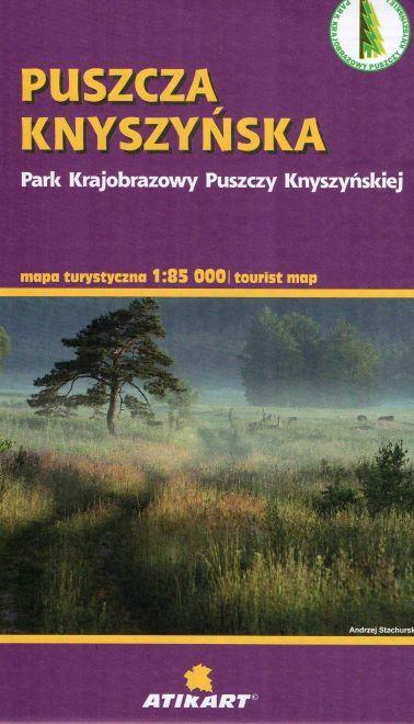 PUSZCZA KNYSZYŃSKA mapa turystyczna 1:85 000 ATIKART 2020 (1)
