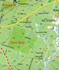 PUSZCZA KNYSZYŃSKA mapa turystyczna 1:85 000 ATIKART 2020 (2)