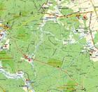 PUSZCZA KNYSZYŃSKA mapa turystyczna 1:85 000 ATIKART 2020 (3)