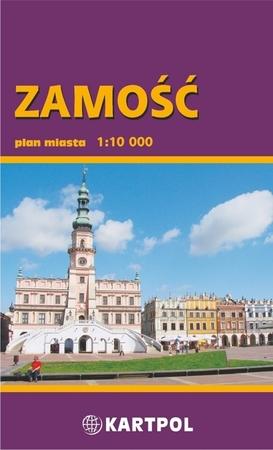 ZAMOŚĆ plan miasta 1:10 000 KARTPOL (1)