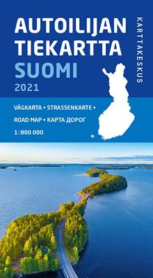 FINLANDIA mapa drogowa 1:800 000 Karttakauppa 2021