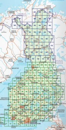 FINLANDIA atlas samochodowy 1:200T/1:250T Karttakauppa 2020 (4)