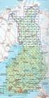 FINLANDIA atlas samochodowy 1:200T/1:250TKarttakauppa 2020 (4)