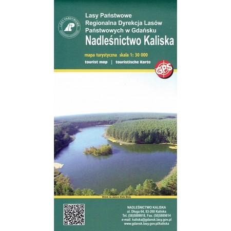 NADLEŚNICTWO KALISKA mapa turystyczna 1:30 000 EKOKAPIO (1)