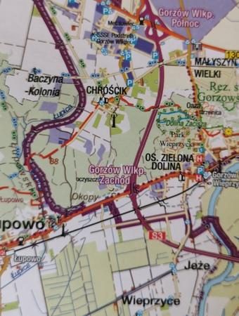 POWIAT GORZOWSKI mapa turystyczna 1:75 000 SYGNATURA 2019 (2)