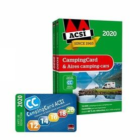 ACSI CampingCard & Aires camping-cars 2020 j.francuski 2020