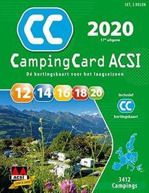 EUROPA Przewodnik CampingCard ACSI i karta rabatowa J.NIDERLANDZKI 2020