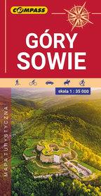 GÓRY SOWIE mapa turystyczna 1:35 000 COMPASS 2020