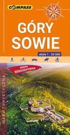 GÓRY SOWIE laminowana mapa turystyczna 1:35 000 COMPASS 2020