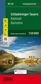 SCHLADMINGER TAUERN - RADSTADT - DACHSTEIN WK201 mapa turystyczna 1:50 000 FREYTAG & BERNDT