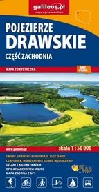 POJEZIERZE DRAWSKIE cz.ZACH mapa turystyczna 1:50 000 STUDIO PLAN 2020