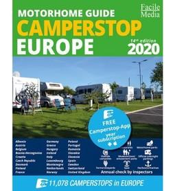 CAMPERSTOP przewodnik campingowy po Europie Facile Media