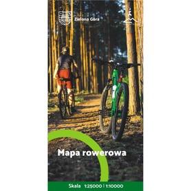 ZIELONA GÓRA mapa rowerowa SYGNATURA 2020