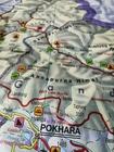 NEPAL BHUTAN HIMALAJE mapa 1:800 000 FREYTAG & BERNDT 2020 (2)