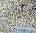 NEPAL BHUTAN HIMALAJE mapa 1:800 000 FREYTAG & BERNDT 2020 (4)