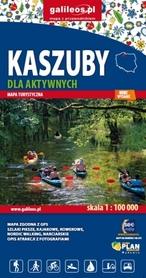 KASZUBY DLA AKTYWNYCH mapa turystyczna 1:100 000 STUDIO PLAN 2020