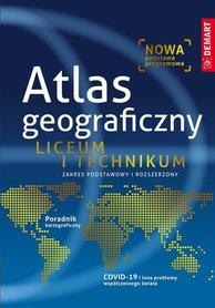 ATLAS GEOGRAFICZNY Liceum i Technikum DEMART 2020/2021