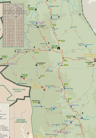 PARK NARODOWY KRUGERA mapa 1:220 000 INFOMAP (3)