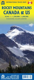 GÓRY SKALISTE Rocky Mountains mapa ITMB 2020