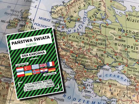 EUROPA GRA KARCIANA ŚWIAT W KARTACH (1)