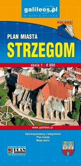 GMINA STRZEGOM mapa turystyczna / plan miasta STUDIO PLAN 2020