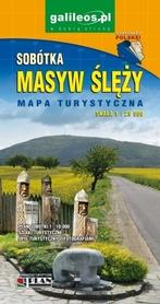 MASYW ŚLĘŻY SOBÓTKA mapa turystyczna 1:25 000 STUDIO PLAN 2020