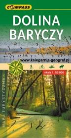 DOLINA BARYCZY mapa turystyczna 1:50 000 COMPASS 2020