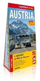AUSTRIA laminowana mapa samochodowa 1:500 000 wersja angielska EXPRESSMAP 2019