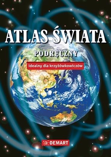 PODRĘCZNY ATLAS ŚWIATA Idelany dla krzyżówkowiczów DEMART 2020 (1)