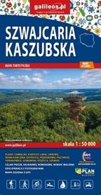 SZWAJCARIA KASZUBSKA mapa turystyczna 1:50 000 STUDIO PLAN 2020
