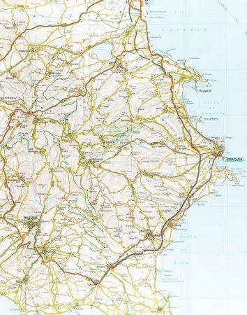 SYCYLIA mapa samochodowa 1:200 000 TOURING EDITORE 2020 (3)