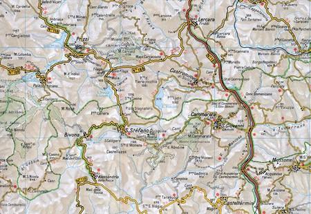 SYCYLIA mapa samochodowa 1:200 000 TOURING EDITORE 2020 (4)